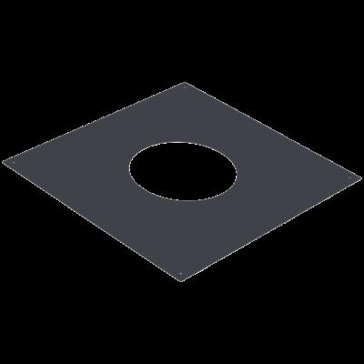 Täckplåt kvadratisk delad 0-30° 500x500 mm